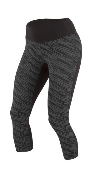 PEARL iZUMi W's Flash 3/4 Shorts Black/Shadow Grey